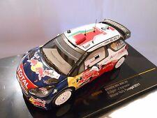 CITROËN DS3 WEC N°2 DU RALLYE DU PORTUGAL DE 2011 1/43ème
