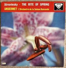 SXL 2042 Ansermet Stravinsky The Rite Of Spring