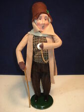 Byers Choice 2012 Man With Pocket Watch Caroler