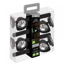 4 x LED Spotlights Floodlight Lamp Security Solar Spot Light Garden Outdoor Path