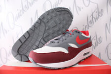 NIKE AIR MAX 1 SZ 13 WHITE UNIVERSITY RED COOL GREY BRIGHT INFRARED AH8145 100