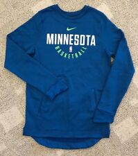 Nike Therma Men's MT M TALL Pullover Sweatshirt Blue NBA Minnesota Timberwolves