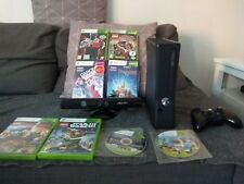 Xbox 360 with kinect and games 250gb hdd
