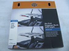 New Harley Davidson Air Foil Luggage Rack Light Kit Smoked 68000010