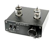 Fx-Audio - Black Tube Preamp Line Amplifier Nfj Original Model Tube-01J New