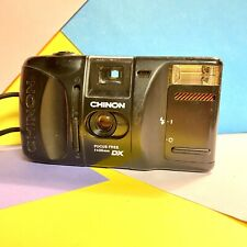 Chinon Auto GL Point & Shoot 35mm Film Camera TESTED Working Order, Lomo Retro!