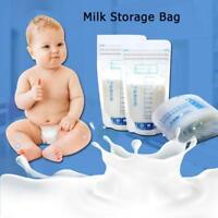 10/20/30pcs 250ml Mother Milk Baby Food Storage Freezer Bags Fresh-keeping Bag