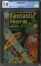 Fantastic Four #109 CGC 7.0 (OW-W)