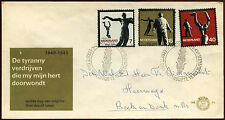 Netherlands 1965 Resistance Commemoration FDC First Day Cover #C27207