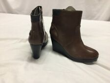 cc67a7af397ae5 Women s Lacoste LAZARET Leather Boots Size 10 EUr 42 Brown Retail  235