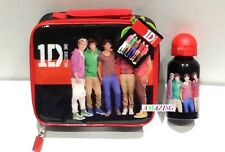 ONE DIRECTION 1D LUNCH BAG & ALUMINIUM SPORTS / WATER BOTTLE - NEW - OD2