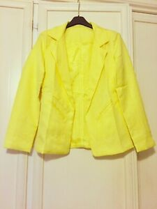 Giacca blazer giallo Celebrities Taglia S
