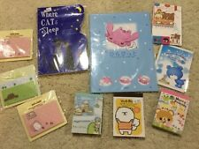 Vintage kawaii stationery paper memo lot Korea Japan