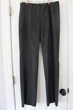 Benetton Ladies Gray Dress Pants Trousers sz. 44 (10) Italy