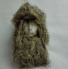 Tactical Desert Grass Ghillie Yowie 3D Quiet Camouflage Head Cover Hood