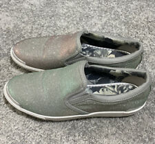 Multi Tone Ted baker malbeck 2 slip on trainers UK 5
