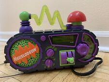 Vintage Nickeloden Time Blaster Rise Slime Alarm Clock Radio 1995 Work Digital