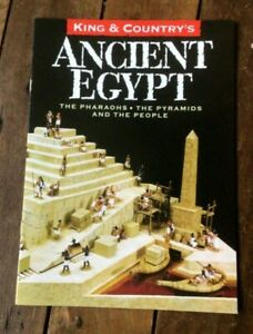 King & Country toy soldiers brochure. Ancient Egypt