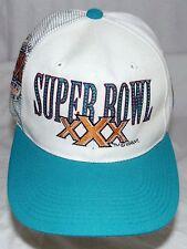 Super Bowl XXX Cowboys Steelers Vintage Snap Back Cap Hat 1995 Deadstock Retro