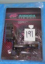 Pse Shooting Sights Aurora Black Sight w/Light .029 Pins #54901 Free Shipping  00004000