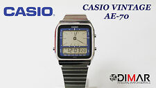 VINTAGE CASIO AE-70 QW.187 JAPAN AÑO 1984 ANA/DIGI
