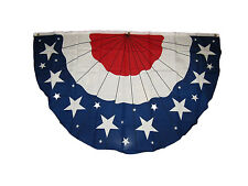 Wholesale Lot 2 Pack 3x5 Usa American America U.S. Bunting Fan Flag 3'x5'