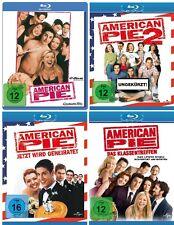 4 Blu-rays * AMERICAN PIE  1 + 2 + 3 + 8 IM SET - Jason Biggs # NEU OVP +