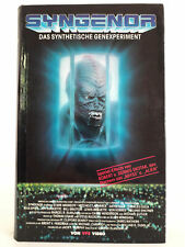 Syngenor - Das synthetische Genexperiment | VHS Video Tape Hartbox VPS | Horror