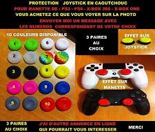 3 PAIRES AU CHOIX protection joystick pour manette PS3/PS4 - X-BOX 360/ONE