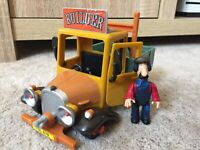 RARE Postman Pat Toy Ted Glen Figure And Builders Truck Great Condition