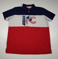 Rocawear Classic Men's 3XL Polo Shirt XXXL Casual Striped Short Sleeve