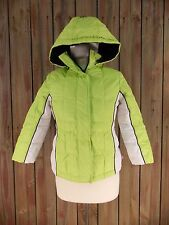 Arizona Jeans Company Coat Lime Green Down Filled Women's Size Small (7-8)