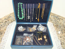 Vintage Jewelry with Jewelry Box All Included
