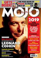 MOJO Magazine-JANUARY 2020-Issue 314-LEONARD COHEN-BEST OF 2019 CD-Brand New