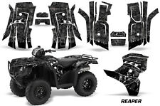 AMR Racing Honda Foreman Graphics Sticker Quad Kit 2015 ATV Decal REAPER BLACK