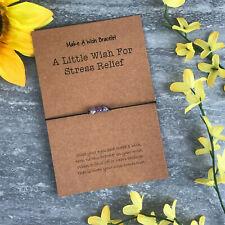 Amethyst, Crystal Bracelet, Healing Crystals, Healing Braclet, Wish Bracelet