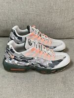 Size 11.5 - Nike Air Max 95 Essential Camo 2018 running Mens sneakers