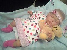 Annmarie  REBORN BABY GIRL Child friendly NEWBORN DOLL fake babies Reduced price