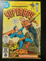 ⭐️ The NEW ADVENTURES of SUPERBOY #19 (1981 DC Comics) VG/FN Book