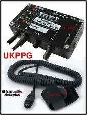 MM005 Microlight Micro-Avionics Flexwing 3-AXIS Intercom V3 For Hand Held Radios
