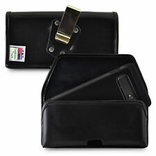 Galaxy S10+ Plus Holster Metal Clip Case Pouch Leather Turtleback