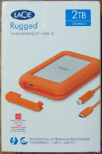 LaCie Rugged Thunderbolt USB-C USB 3.02TB 130MB/s Mobile External Hard Drive