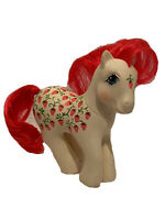 My Little Pony G1 Sugarberry Strawberry Twice as Fancy Figure Toy Vintage 1987