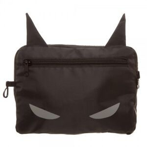 DC Comics Batman Packable Backpack - Folds into it's own nylon pouch!