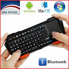 Mini Wireless Bluetooth Keyboard Touchpad iOS Android Windows Portable Backlit