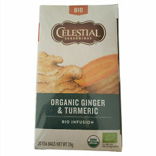Celestial Tea | Celestial Seasonings Tea | 20 Bags of Celestial Tea with Ginger