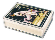 1 Pro-Mold PC50 - 2 Piece Snap Plastic Box Card Storage 50 Card Holder
