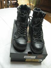 "Harley-Davidson® Women's 6"" Maddy Lace-up Leather Motorcycle Biker Boots D84189"