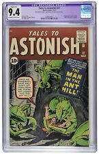 Tales to Astonish 27 CGC 9.4 R C-1 NM Marvel 1st Ant-Man Avengers OW/W Pages