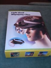 Light Head Magnifying Glass - Boxed/Mint - Great For Jewelry Work!